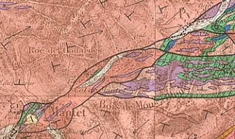 Carte géologique détaillée de la France à 1/80.000, feuille 257 « Prades » (1968)