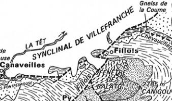 Le métamorphisme hercynien mésozonal et les gneiss œillés du massif du Canigou (Pyrénées orientales) (Guitard, 1965, 1970)