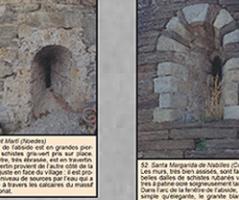 Géologie et art roman : pierres romanes du Conflent (Poster)